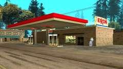 Exxon Gas Station pour GTA San Andreas