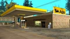 Agip Gas Station pour GTA San Andreas