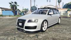 Audi RS6 Avant (C6) [add-on] pour GTA 5