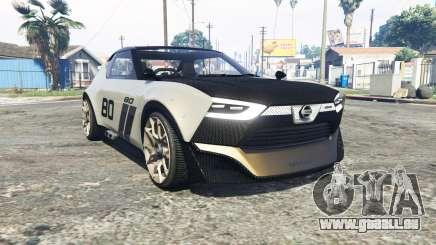 Nissan IDx Nismo concept [replace] pour GTA 5