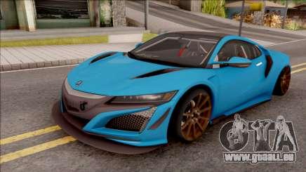 Acura NSX 2017 Stock Beta für GTA San Andreas
