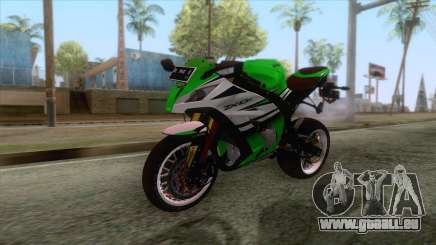 Kawasaki Ninja ZX-10R Ruff Ryder für GTA San Andreas