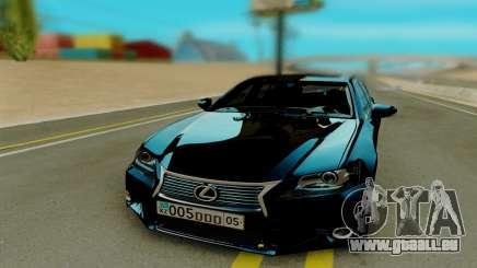 Lexus GS350 F Sport für GTA San Andreas