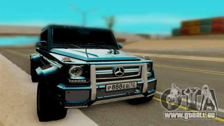 Mersedes Benz G65 6x6 pour GTA San Andreas