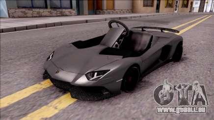 Lamborghini Aventador J-Kart pour GTA San Andreas