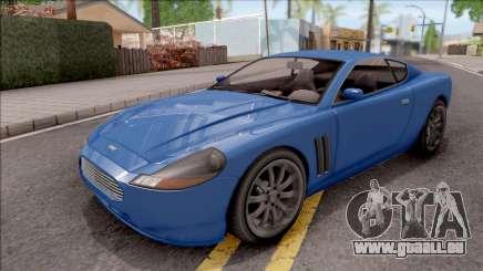 GTA IV Dewbauchee Super GT IVF für GTA San Andreas