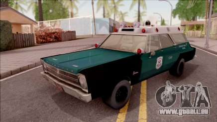 Plymouth Belvedere Station Wagon 1965 NYPD Final für GTA San Andreas