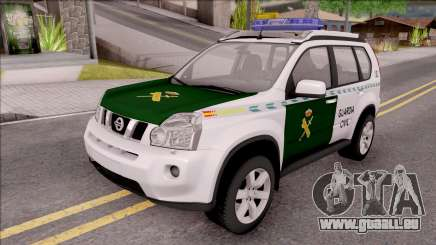 Nissan X-Trail Guardia Civil Spanish für GTA San Andreas