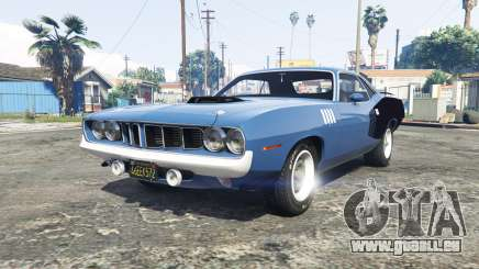 Playmouth Hemi Cuda (BS) 1971 [add-on] für GTA 5