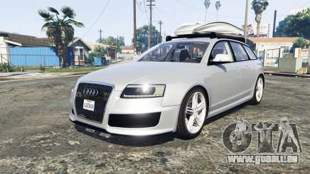 Audi RS6 Avant (C6) [add-on] für GTA 5