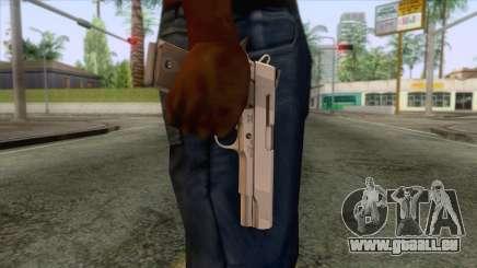 Smith & Wesson 45 ACP Revolver für GTA San Andreas