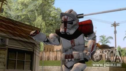 Star Wars JKA - Felucia Clone Skin 2 pour GTA San Andreas