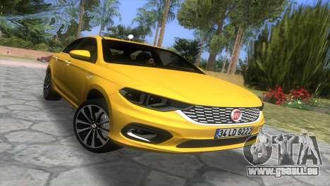 2016 Fiat Tipo für GTA Vice City