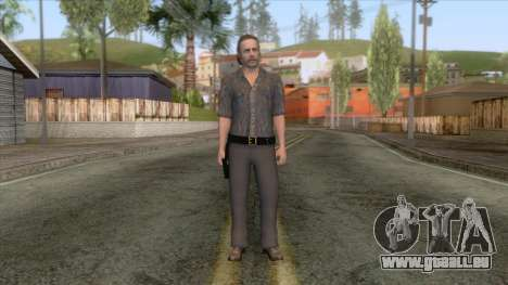 The Walking Dead - Rick Grimes für GTA San Andreas