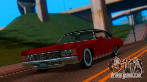 Chevrolet Impala 1971 Retextured für GTA San Andreas