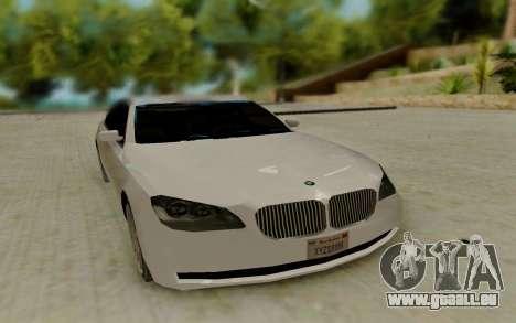 BMW 7 Series 750Li xDrive pour GTA San Andreas