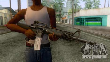 M16A4 Assault Rifle für GTA San Andreas