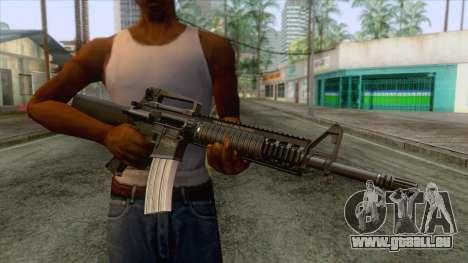 M16A4 Assault Rifle pour GTA San Andreas