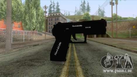 GTA 5 - Combat Pistol für GTA San Andreas