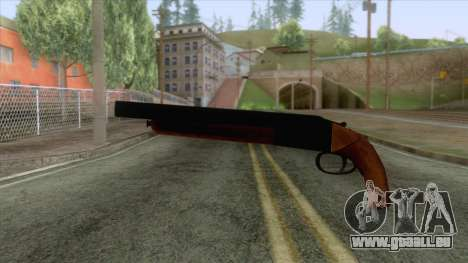 GTA 5 - Double Barrel Shotgun pour GTA San Andreas