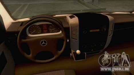 Mercedes-Benz Sprinter 2017 pour GTA San Andreas
