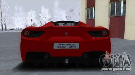 Ferrari 488 Spider 2016 pour GTA San Andreas
