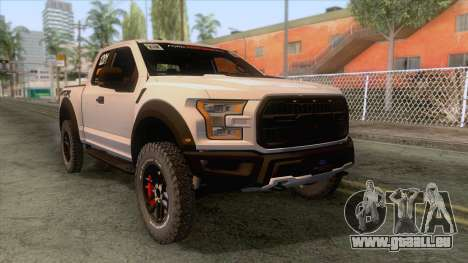 Ford Raptor 2017 Race Truck pour GTA San Andreas