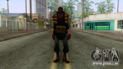 Team Fortress 2 - Demo Skin v1 für GTA San Andreas