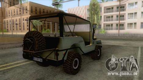 Zastava AR55 Off Road für GTA San Andreas