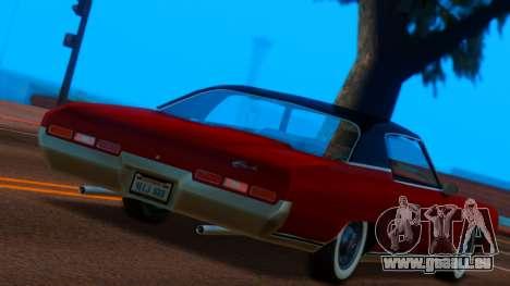 Chevrolet Impala 1971 Retextured für GTA San Andreas linke Ansicht