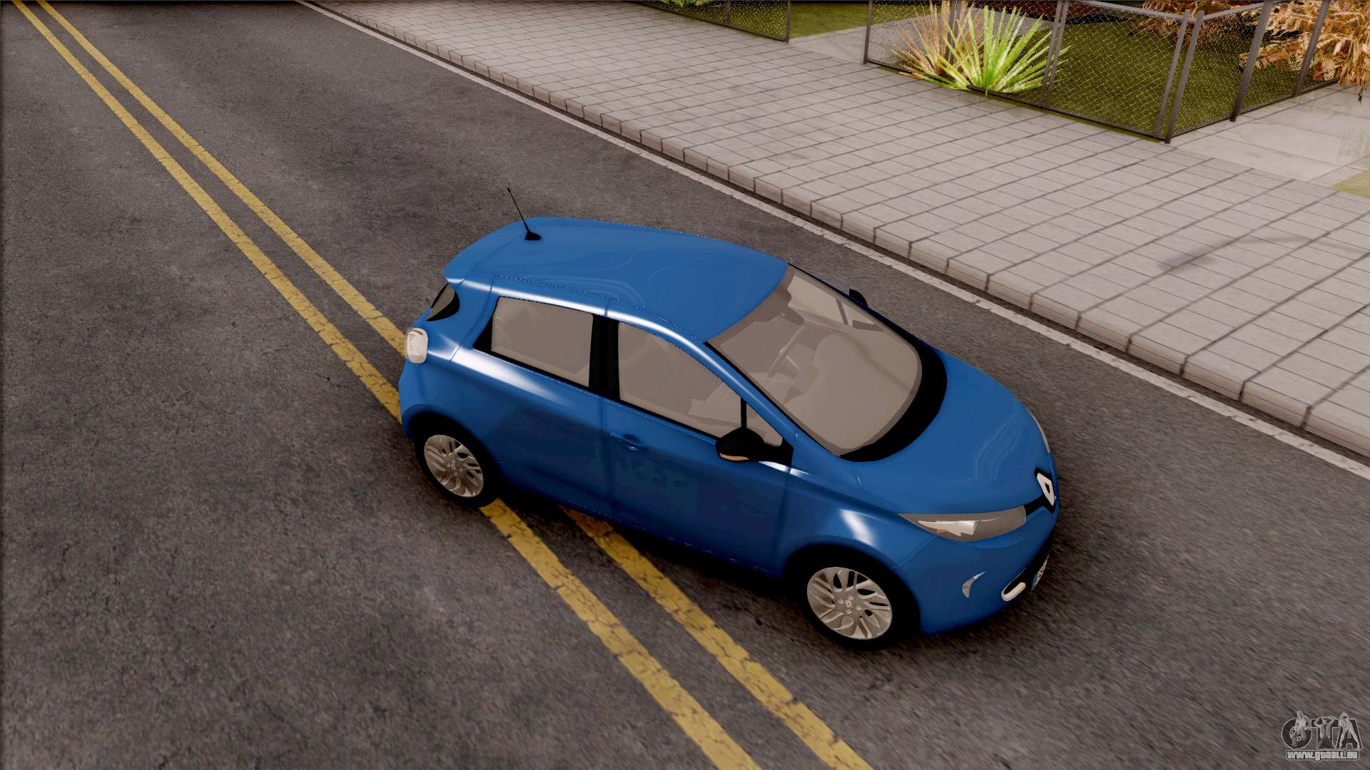 renault zoe 2013 pour gta san andreas. Black Bedroom Furniture Sets. Home Design Ideas