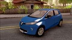 Renault Zoe 2013 für GTA San Andreas