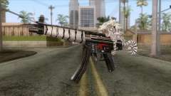 MP5 Tiger Skin pour GTA San Andreas