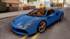Ferrari 488 Spider 2016 v2 pour GTA San Andreas