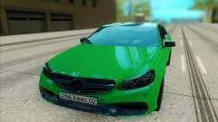 Mercedes-Benz E63 AMG лайм für GTA San Andreas