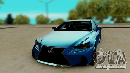 Lexus IS F Sport pour GTA San Andreas