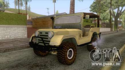 Zastava AR55 Off Road pour GTA San Andreas