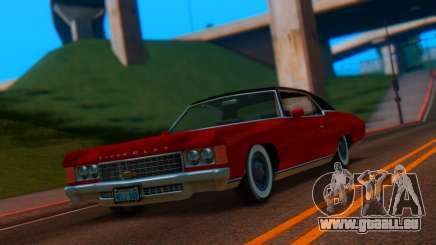 Chevrolet Impala 1971 Retextured pour GTA San Andreas