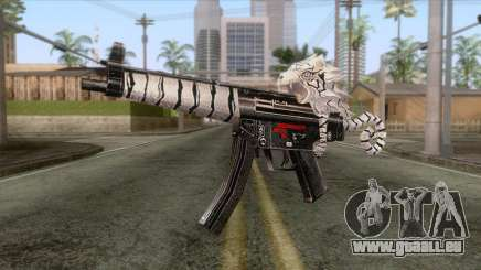 MP5 Tiger Skin für GTA San Andreas