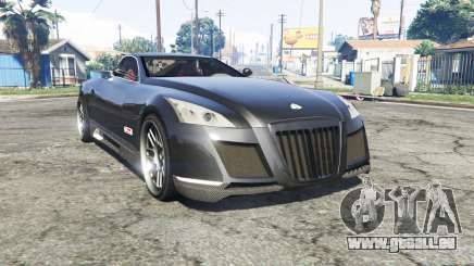 Maybach Exelero concept 2005 v0.5 [replace] pour GTA 5