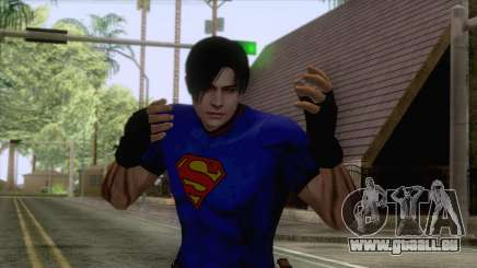 Leon Superman Cloth Skin für GTA San Andreas