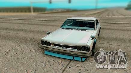 Nissan Skyline GT R Coupe 1969 pour GTA San Andreas