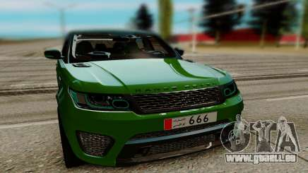 Land Rover Range Rover Sport Supercharged pour GTA San Andreas