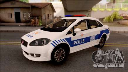 Fiat Linea Turkish Police für GTA San Andreas