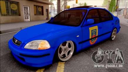 Honda Civic Ies Gendarmerie für GTA San Andreas