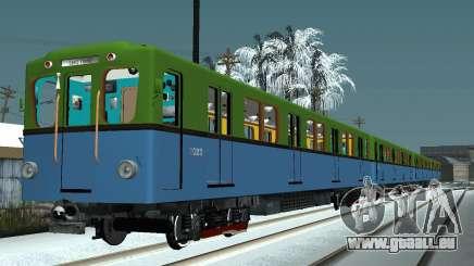 Metrovagony type D pour GTA San Andreas