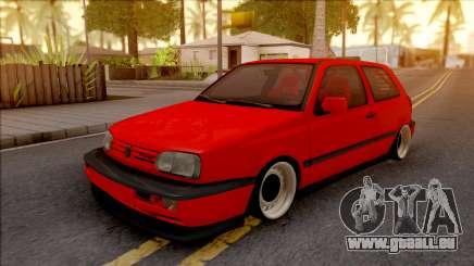 Volkswagen Golf MK4 Izmir Job pour GTA San Andreas