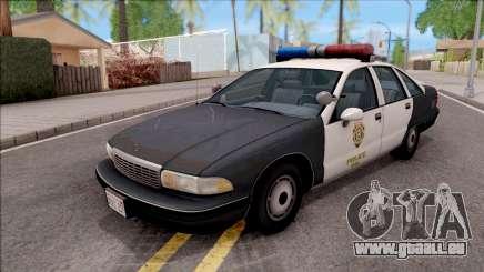 Chevrolet Caprice 1991 R.P.D. pour GTA San Andreas