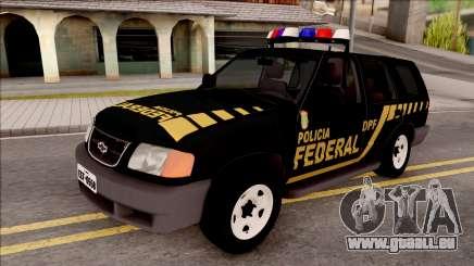 Chevrolet Blazer Federal Police of Brazil für GTA San Andreas