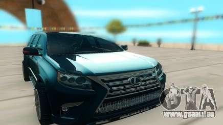 Lexus LX540 für GTA San Andreas